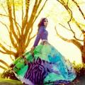Девушка в ярком платье - Girl in a bright dress