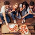 Друзья и пицца - Friends and pizza