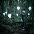 Девушка в лесу с шарами - Girl in the wood with balloons