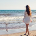 Девушка и море - Girl and sea