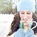 Девушка и зима - Girl and winter
