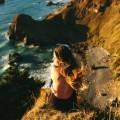 Девушка у берега - Girl at the shore