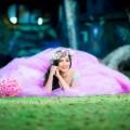 Девушка в розовом платье - Girl in a pink dress