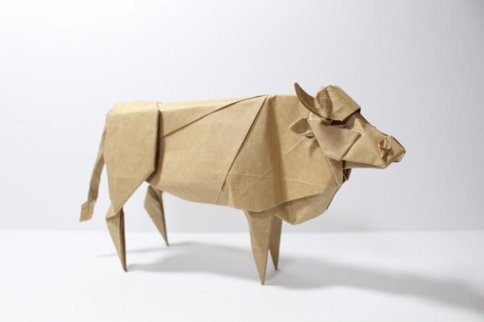 korova bumaga origami 700x466 Оригами   Origami
