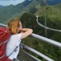 Девушка, поход, пейзаж - Girl, trekking, landscape