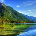 Горный пейзаж - Mountain landscape