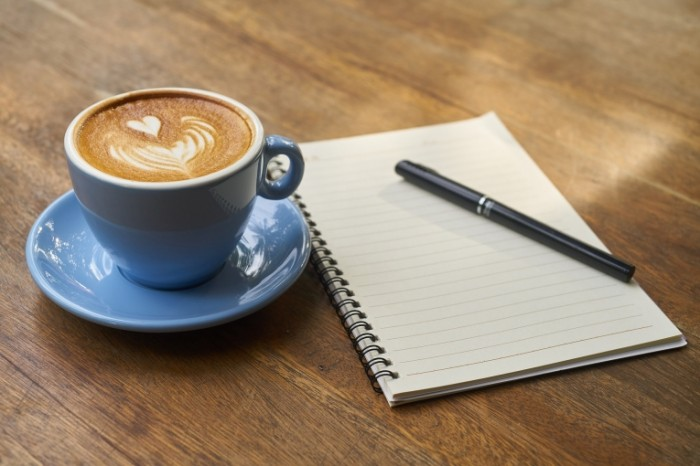 Kofe i bloknot Coffee and notebook 700x466 Кофе и блокнот   Coffee and notebook