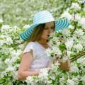 Девушка и цветы - Girl and flower