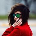 Девушка в очках - Woman in glasses