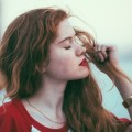 Девушка, красные губы - Girl, red lips