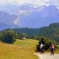 Горы, пейзаж, велосипед - Mountains, landscape, bicycle