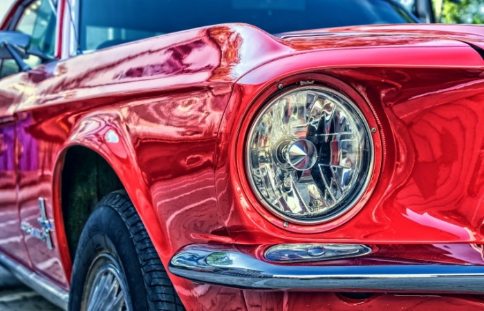 Krasnyiy avtomobil Red car 700x451 Красный автомобиль   Red car