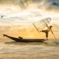 Море, лодка - Sea, boat
