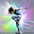 Танец музыка - Music dance