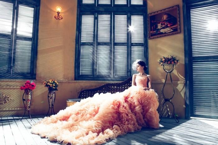 розовое платье   pink dress