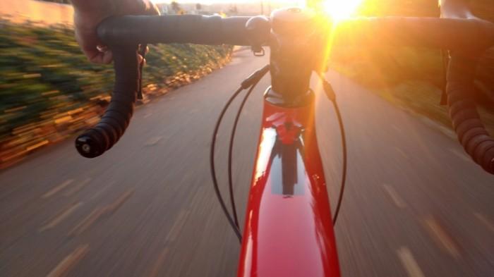 велосипед   a bike