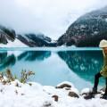 Озеро, горы, девушка - Lake, mountains, girl