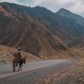 Горы, человек, дорога - Mountains, people, road