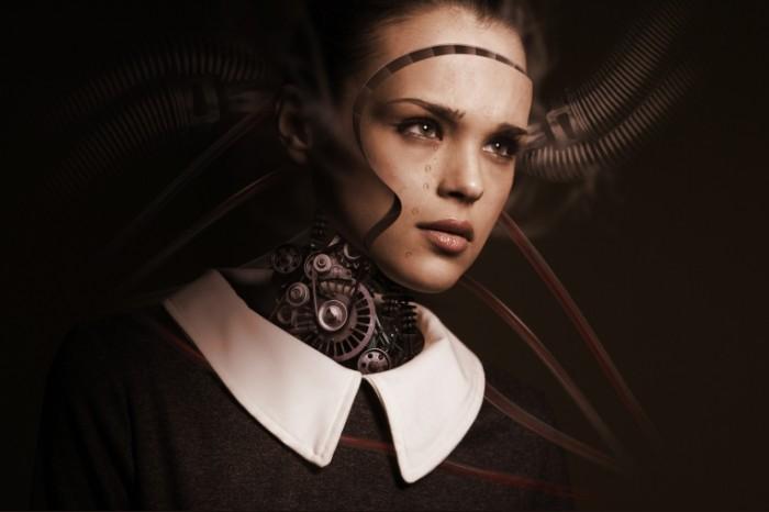 Robot devushka Robot girl 700x466 Робот, девушка   Robot, girl