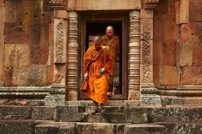 Буддийские монахи   Buddhist monks