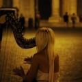 Девушка с арфой - Girl with harp