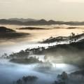 Горы, пейзаж, туман - Mountains, landscape, fog
