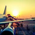 Самолет, восход - Airplane, sunrise