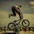 Велосипедист, BMX - Cyclist, BMX