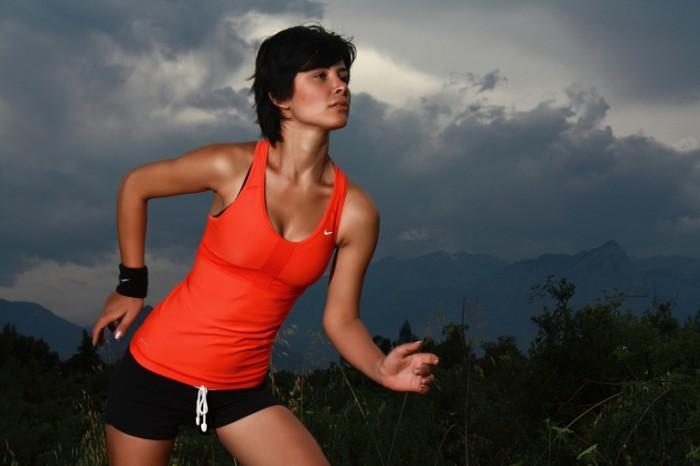 Девушка, фитнес   Girl, fitness