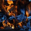 Горящая бумага - Burning paper