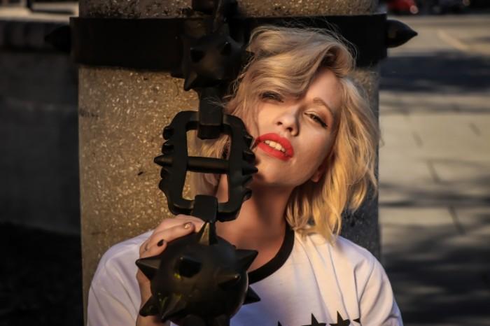 Девушка, блондинка   Girl, blonde