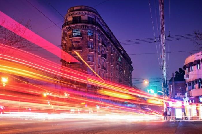 Городской трафик   Urban traffic