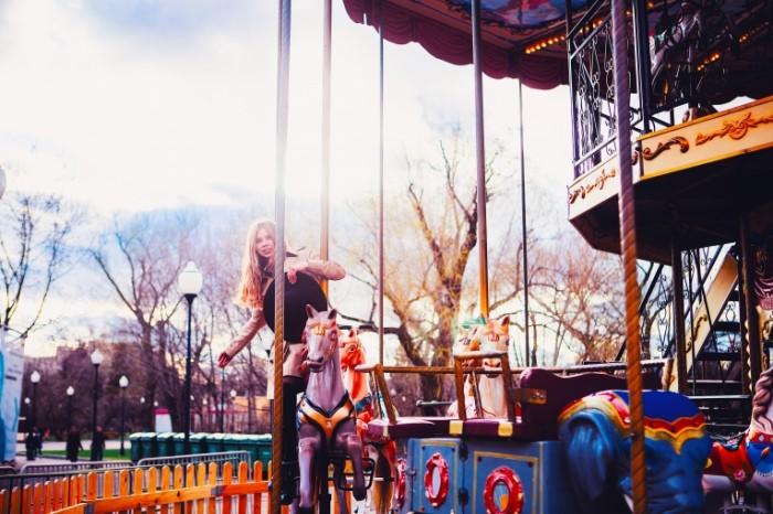 Karusel park Carousel park 5760  3840 700x466 Карусель, парк   Carousel, park