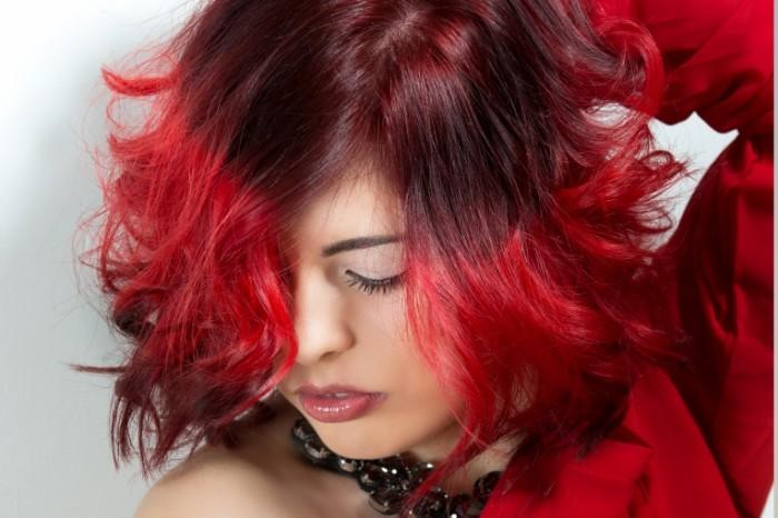 Model krasnyie volosyi pricheska Model red hair hairstyle 5760  3840 700x466 Модель, красные волосы, прическа   Model, red hair, hairstyle