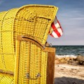 Плетеное кресло, пляж - Wicker chair, beach