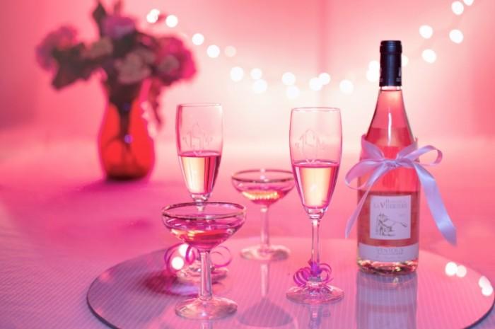 Розовое шампанское   Pink champagne