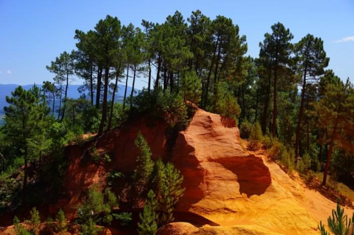 Skala ohra Rock ocher 6000  4000 700x466 Скала, охра   Rock, ocher