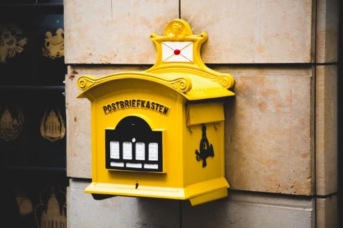 Яркий почтовый ящик   Bright Mailbox