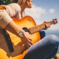 Акустическая гитара, девушка - Acoustic guitar, girl