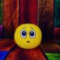 Грустный смайлик, игрушка - sad smiley, a toy