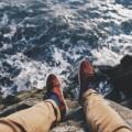 Отдых на берегу скалы - Rest on the shore of the cliff