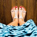 Сандали, педикюр - Sandals, pedicure