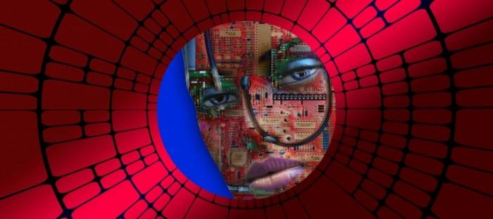 TSifrovoy mir litso Digital world face 5900  2629 700x311 Цифровой мир, лицо   Digital world, face
