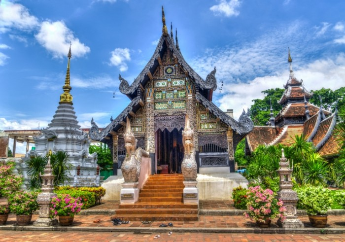 Tailand hram. CHiang May Thailand temple. Chiang Mai 7075  4974 700x491 Таиланд, храм. Чианг Май   Thailand, temple. Chiang Mai