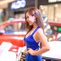 Девушка, автосалон, модель - Girl, car showroom, model