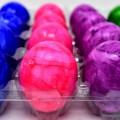Пасха, крашенные яйца, красочный - Easter, painted eggs, colorful