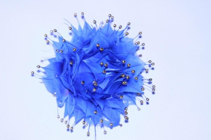 Ruchnaya rabota tsvetok perya Handmade flower feathers 5184  3456 700x466 Ручная работа, цветок, перья   Handmade, flower, feathers