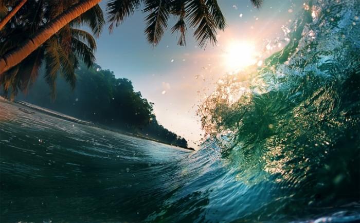 Volna okean poberezhe Wave ocean coast 5000x3105 700x434 Волна, океан, побережье   Wave, ocean, coast