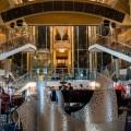 Круизный лайнер, холл, интерьер корабля - Cruise liner, hall, interior of the ship