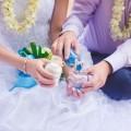 Свадьба, традиция цветной песок - Wedding, a tradition of colored sand